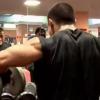 鈴木雅選手の肩トレーニング