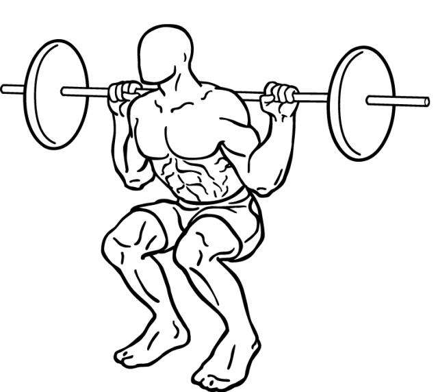 スクワットの正しいやり方は?腰や膝が痛い原因と対策もまとめて紹介