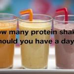 結局のところ、プロテインは一日に何回飲めばいいか?