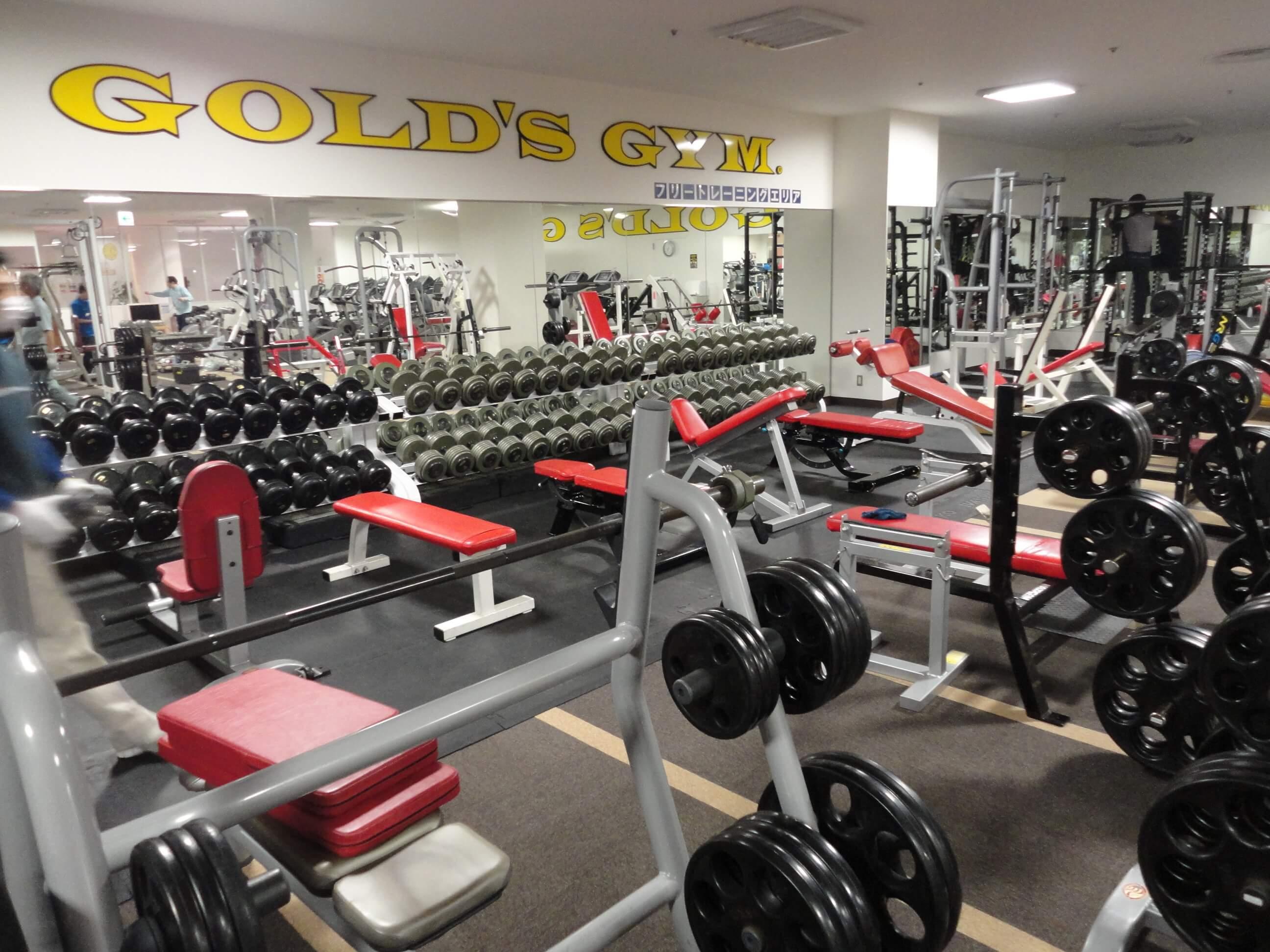 ゴールドジムでトレーニングをする5つのメリット