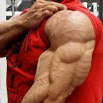 リー・プリーストの上腕三頭筋・前腕トレーニング