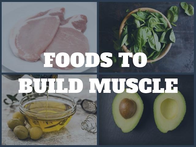 筋肉を作るのにオススメの食材