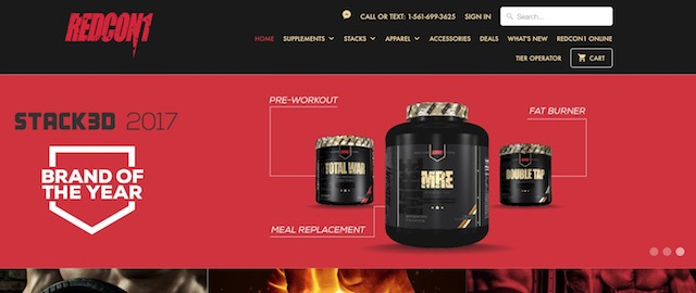 redcon1のホームページ