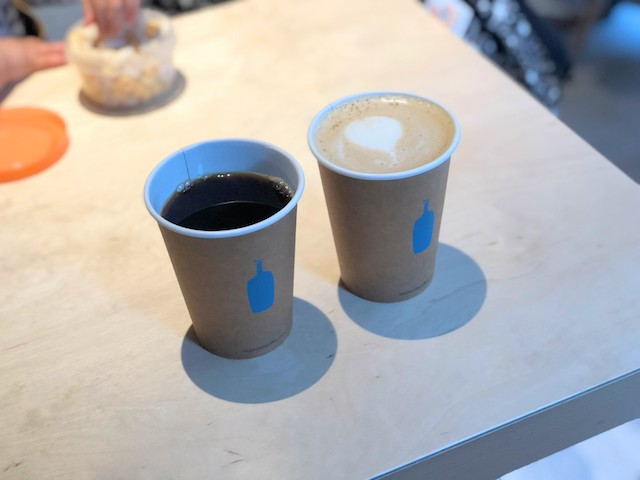 ドリップコーヒーとオレ