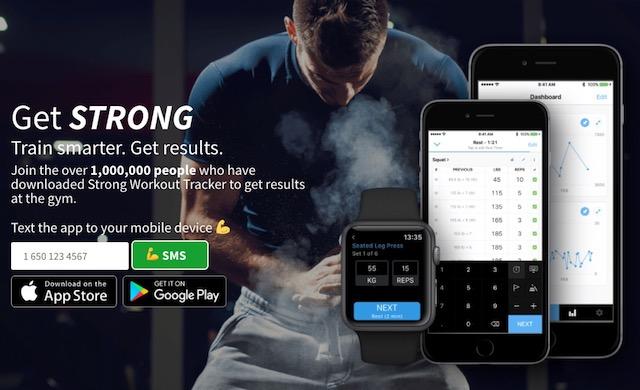 無料で使えるトレーニングメモアプリ「Strong」が素晴らしすぎた。筋トレ好きにオススメ