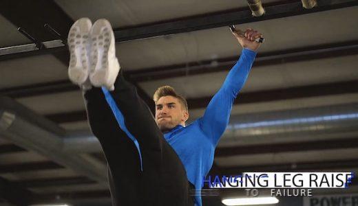 「ライアンテリー」の腹筋トレーニングルーティン。分厚いシックスパックを手に入れよう