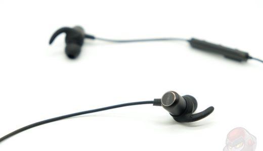 【レビュー】格安で筋トレに使えるBluetoothイヤフォン「SoundBuds Slim」